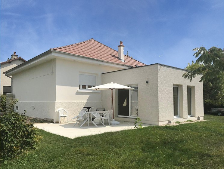 Maison agrandissement Franche-Comté