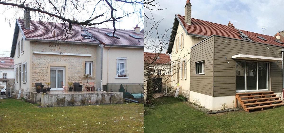 extension de maison en bourgogne